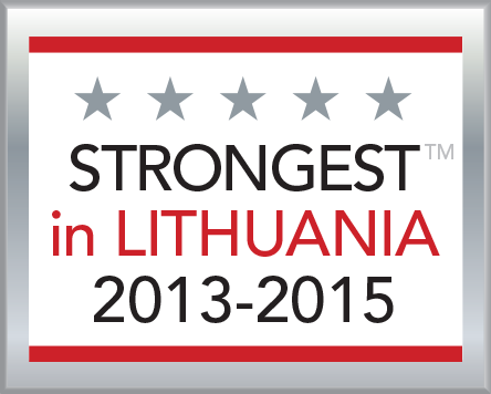 Strongest in Lithuania 2013-2015